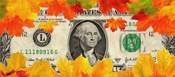 Курс доллара осенью 2015